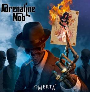 Adrenaline Mob - Omerta promo cover pic!