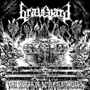 Graveyard - Altar of Sculpted Skulls - cover promo