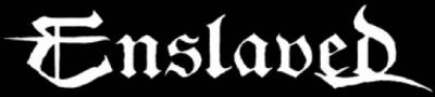 Enslaved - Large Logo - B&W