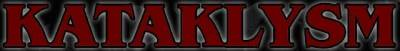 Kataklysm - Red Logo!