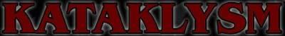 Kataklysm - Red Logo!