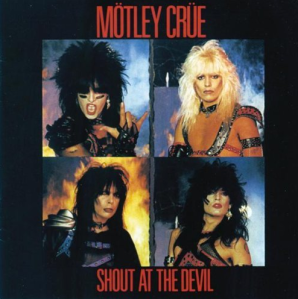 Motley Crue - Shout At The Devil - promo cover pic!!