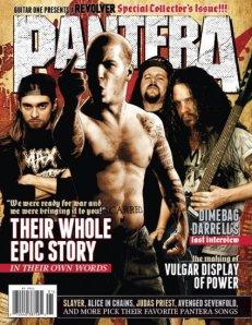 Pantera - Revolver Magazine - Special - promo cover!