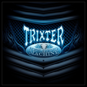 Trixter - New Audio Machine - Large promo album cover!