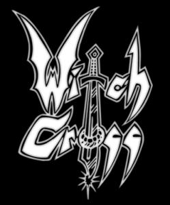 Witch Cross - Classic Logo - Large - B&W!!