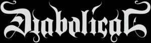 Diabolical - Large Logo! B&W