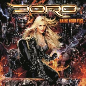 Doro - Raise Your Fist - promo album cover!!