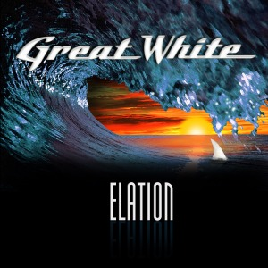 GREAT WHITE - Elation promo cover