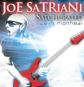 Joe Satriani - Satchurated - album cover promo