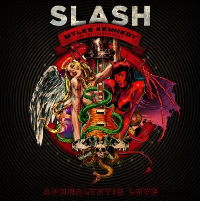 Slash - Apocalyptic Love - promo cover pic!