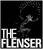 The Flenser - Logo - B&W
