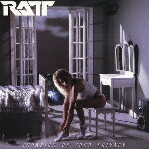 RATT - Invasion Of Your Privacy - promo cover pic!