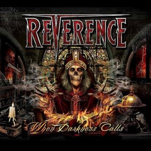 Reverence - When Darkness Calls - promo cover pic!