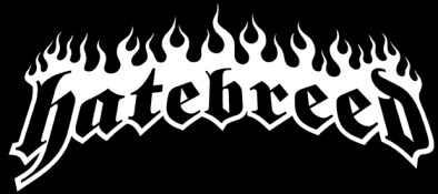 HATEBREED - Large Logo - B&W!