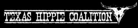 Texas Hippie Coalition - Large Logo - B&W!