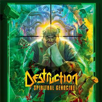 Destruction - Spiritual Genocide - cover promo pic!