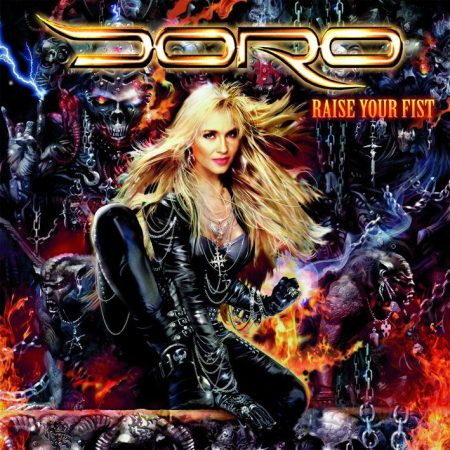 DORO - Raise Your Fist - Large Promo Cover Pic!!