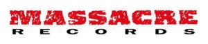 Massacre Records - large logo! Red:black:white