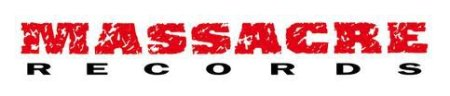 Massacre Records - large logo! Red:black:white