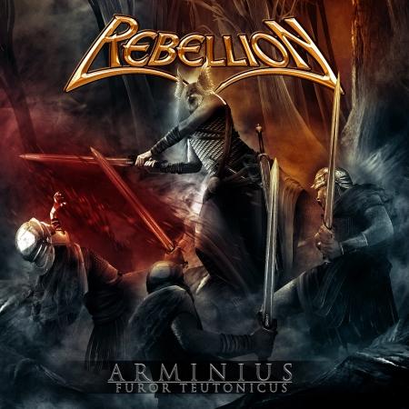 Rebellion - Arminius Furor Teutonicus - cover promo pic!