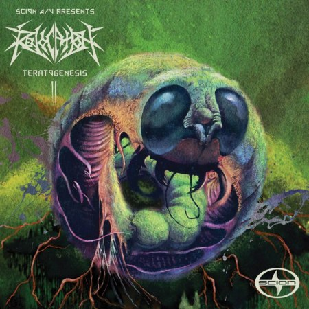Revocation - Teratogenesis - EP - cover promo!