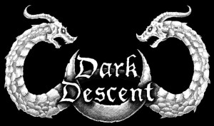 Dark Descent Records - Logo - B&W!