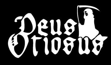 Deus Otiosus - Large Logo - B&W
