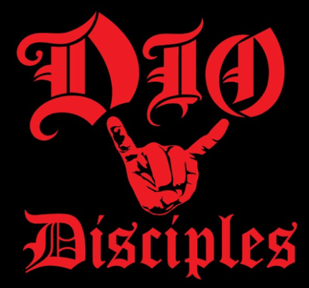 DIO Disciples - Large Logo Block - Red & Black!