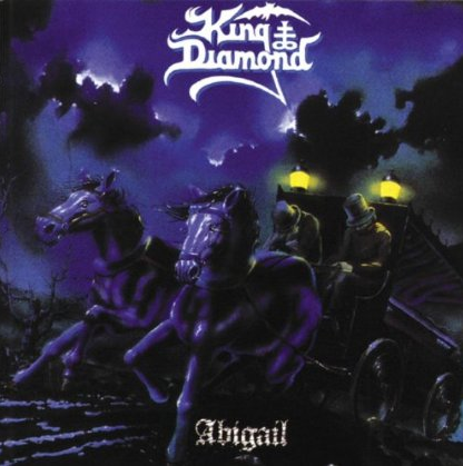 King Diamond - Abigail - promo cover pic - large!!