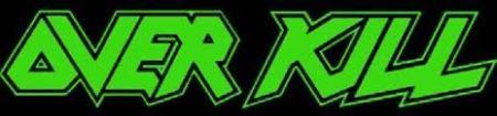 Overkill - classic logo - green & black!