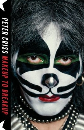 Peter Criss - Makeup To Breakup - book cover - promo pic!