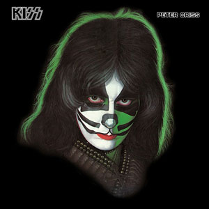 Peter Criss - solo album cover promo pic!