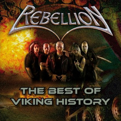 Rebellion - The Best Of Viking History - cover promo pic!