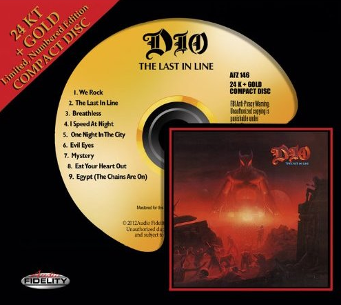 "DIO ""The Last In Line"" 24 KT Gold CD Releases November 27th"