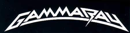Gamma Ray - Classic Logo - B&W!