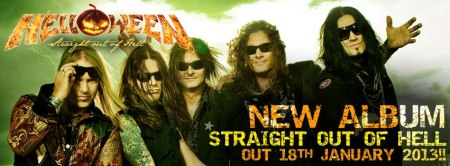 Helloween - Straight Out Of Hell - promo banner!