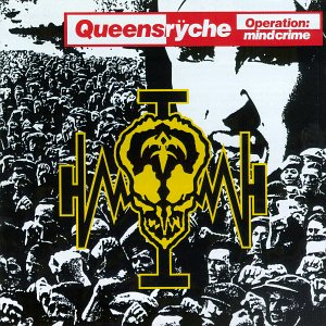 Queensryche - Operation Mindcrime - promo cover pic!