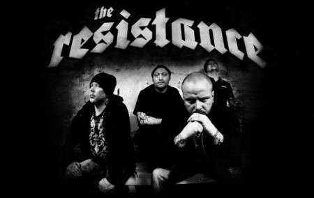 The Resistance - Group Promo Pic - Logo - 2012