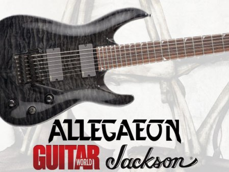 allegaeon - guitar world - contest promo ad!
