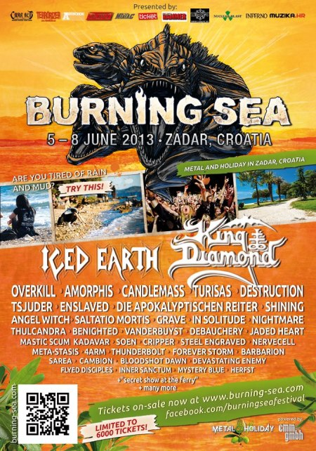 Burning Sea Festival - 2013 - poster promo pic!