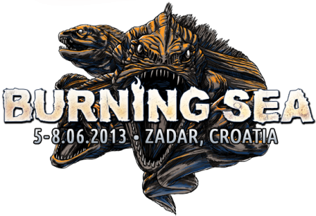 Burning Sea - Festival - Large Logo - Promo - 2013