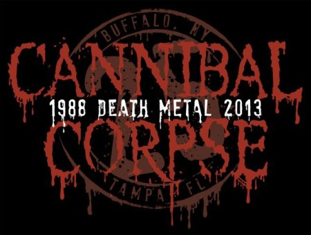 Cannibal Corpse - 25th Anniversary Logo - Large!