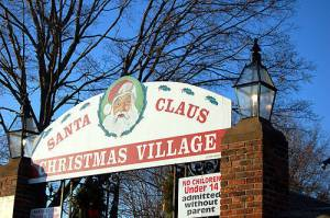 Christmas Village - Torrington - front entrance - promo pic!