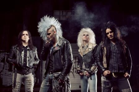 Crashdiet - promo group pic - 2012 - #1