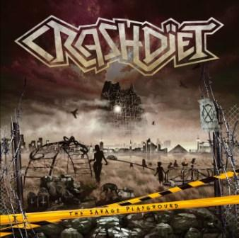 Crashdiet - The Savage Playground - promo cover pic!
