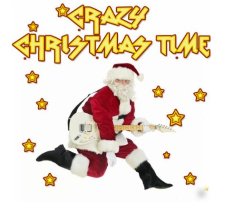 Crazy Christmas Time - promo cover pic!