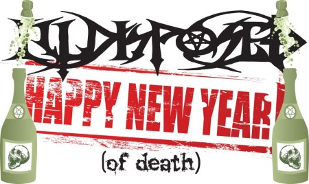 Illdisposed - Happy New Year - promo banner - 2013