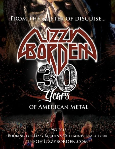 Lizzy Borden - 30 Years Of American Metal - promo pic! #2 - 2012