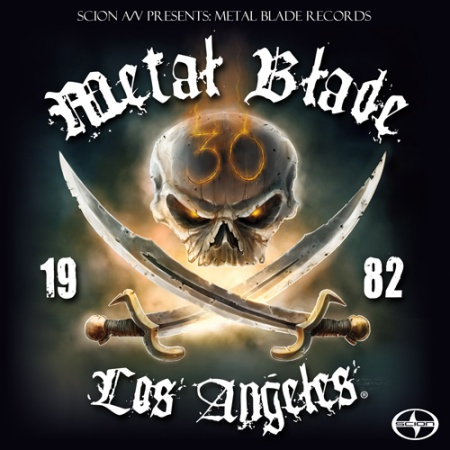 Metal Blade - 30th Anniversary - Scion Presents - promo block