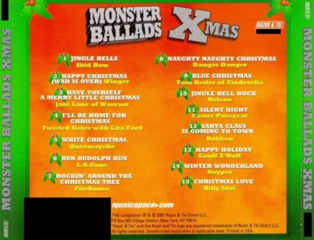 Monster Ballads - X-Mas - back cover promo pic!